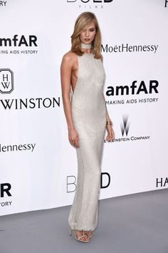 Karlie Kloss. See what all the stars wore at the Cannes amfAR gala.