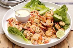 Barbecued prawns with ginger and mango mayonnaise . and many other tasty summer BBQ recipes. Barbecued Prawns, Bbq Prawns, Grilled Prawns, Xmas Food, Christmas Cooking, Prawn Recipes, Seafood Recipes, Christmas Entrees, Christmas Recipes