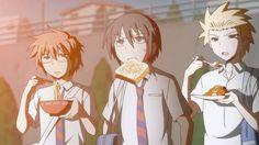 "Daily Lives of High School Boys { aka ""Danshi Koukousei no Nichijou"" } ~~ Totally awesome show!"