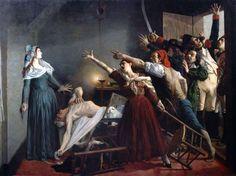 The death of Marat, Jean Joseph Weerts (1880) . Musée La Piscine, Roubaix