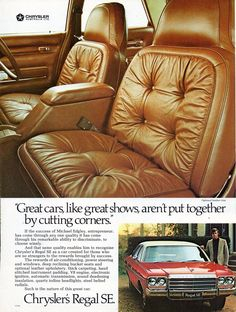 https://flic.kr/p/KUsQes | 1977 CL Chrysler Regal SE Aussie Original Magazine Advertisement