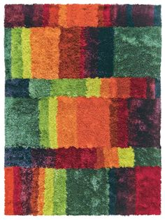 Shaggy Teppich Arte Espina Funky multicolor