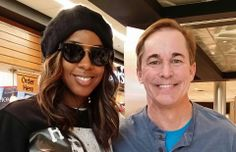 Mike Siedel with Kelly Rowland