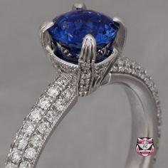 Art Deco Sapphire Ring Gorgeous!