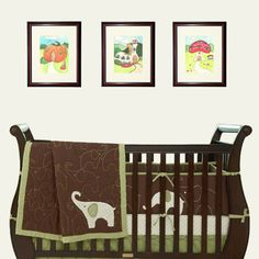 Set of 3 color illustrations OF YOUR CHICE from one of by liatib, $54.00