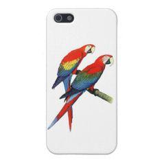 Red Parrots iPhone 5/5s Case