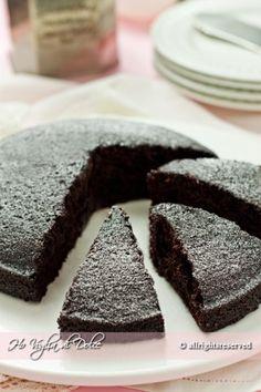 Torta al cioccolato senza uova, latte e burro, ricetta | Ho Voglia di Dolce