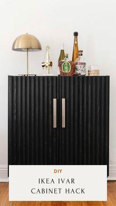 DIY Ikea Hacks Ivar Cabinet Hack DIY IKEA Living Room Hacks cb2 Hack