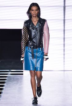 905366b3db36 A look from the Louis Vuitton Spring-Summer 2016 Fashion Show from Artistic  Director of Women s Collections Nicolas Ghesquière.