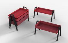 Living Divani—Stack table