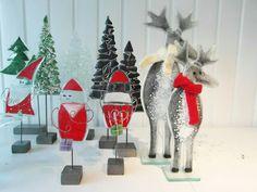 Christmas, Santa, reindeer