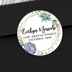 35 Personalised Wedding Business Party Bag Address Labels Stickers Seals 109