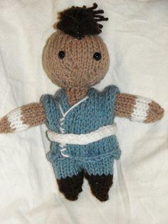 Avatar The Last Airbender Sokka Doll by ElaynaBKnits on Etsy, $14.50