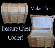 Picture of Pirate Chest Cooler Box by Joshwelch9 on instructables.com