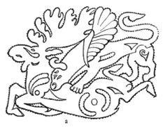 Traditional Scythian tattoo