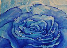 rosa blu di Natalia Khromykh