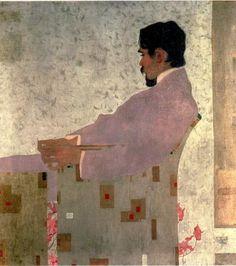 Portrait of the Painter Anton Peschka, 1909 ~ Egon Schiele via Alisa Coburn