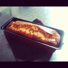 Cake au jambon et au cheddar