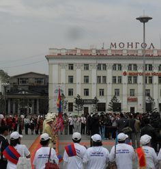 Mongolian Olympic team send-off. #London2012