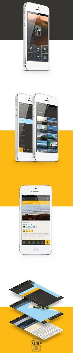Portugal Surf Guide | App #ui #app #ios
