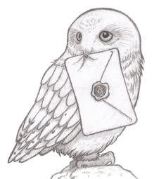 (41) #kidlitart hashtag on Twitter - Alex Worthen @alworthen Jan 20 Hedwig sketch I'm currently working on. #harrypotter #art #illustration #sketch #drawing #kidlitart #hedwig