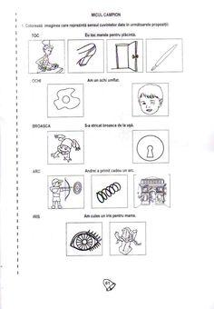 Fise de lucru Kindergarten Worksheets, Worksheets For Kids, School Lessons, Teacher, Bullet Journal, Writing, Education, Gabriel, Pdf