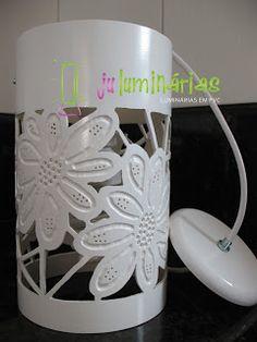 Ju Luminárias - Luminárias em PVC: Pendentes
