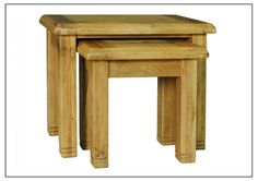 Weathered Distressed Oak Nest of Tables Dining Room, Rustic Look for the contemporary or modern living space, available from Comfortzone home furnishings Weathered Oak, Oak, Table, Furnishings, Furniture, Distressed, Living Spaces, Buying Wholesale, Home Furnishings