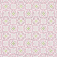Cotton Kaleidoscope 3 - rosa - Pastell - Dekorationstyger med ornament - Summer Loft - Bomullstyg med blomstermotiv - tyg.se