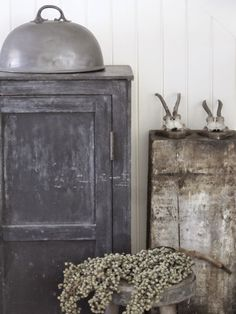 Rustic shades of grey