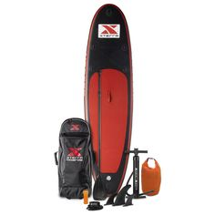 Premium 10' Inflatable Black SUP Package