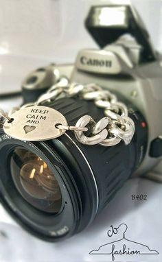 Keep-calm tag Bracelet   Hand-made jewelry