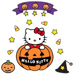 hello kitty halloween | Hello kitty halloween para imprimir
