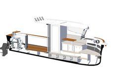 HERLEY BOATS - Premium Customise Boats - Herley Captain Aluminum Trailer, Aluminum Boat, Bait Tank, Stacker Doors, Large Storage Bins, The Wheelhouse, Small Yachts, Classic Wooden Boats, Fishing Vessel