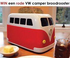 Check de actie op http://www.wonenonline.nl/win-vw-camper-broodrooster.html