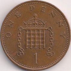 Wertseite: Münze-Europa-Westeuropa-Vereinigtes Königreich-Pound-0.01-1982-1984