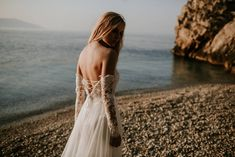 Cintia top and Cintia skirt / Nora Sarman Bridal / photo Pinewood Weddings Web Foto, Wedding Bride, Wedding Dresses, Bohemian Bride, Bridal Collection, Mermaid, Couples, Weddings, Landscapes