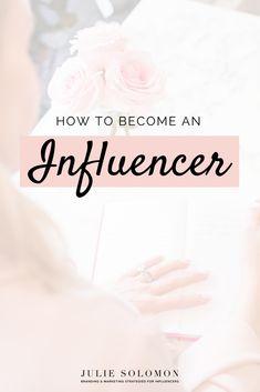 How to become a social media influencer book