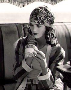 Myrna Loy, looking very Boho ~ by Alexander Stewart c.1928