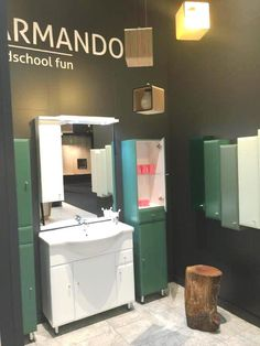 #Armando#stand#bathroom#furniture#IMMCologne#Defra