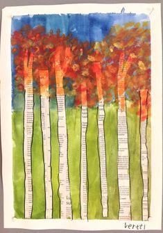 Fall Art Projects, Classroom Art Projects, Art Classroom, Fall Arts And Crafts, Autumn Crafts, Autumn Art, Kindergarten Art Lessons, Art Lessons Elementary, Drawing For Kids
