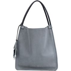 Proenza Schouler medium shopper tote (81.500 RUB) ❤ liked on Polyvore featuring bags, handbags, tote bags, grey, grey tote, grey handbags, shopping bag, grey tote bag and fringe tote