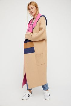 Color Blocked Jacket at Free People