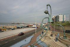 Scheveningen - Sea side - Art (Photo by Petka).