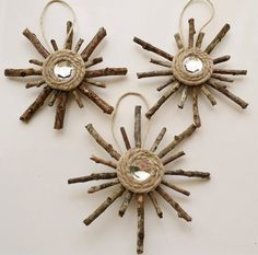 Hey, I found this really awesome Etsy listing at https://www.etsy.com/listing/205973515/rustic-snowflake-ornaments-set-of-3