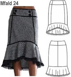 Lindas faldas casuales | AquiModa.com: vestidos de boda, vestidos baratos
