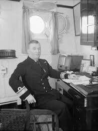 Admiral Robert Burnett This Could Be Aboard HMS.Belfast ..