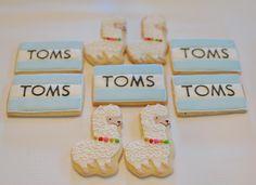 Toms and Llamas Cookies