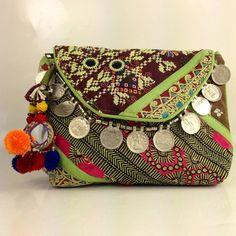 Banjara Clutch Ethnic Clutch Tribal Clutch Gypsy by loveandlucky, $32.00