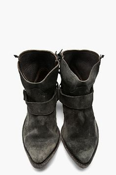 Golden Goose Distressed Rennie Fringe Ankle Boots | ❤Absolutely ...
